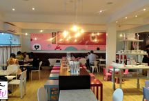 'HazeyCakes' inspiration / My dream cupcake shop!