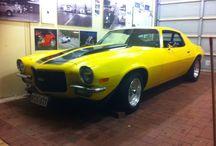 71 yellow ss Camaro / Muscle cars