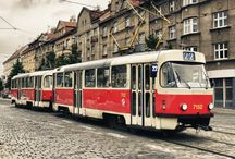 Trams Trolleys and Trains / by Jean Panyard-Davis