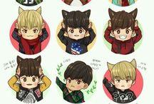 Cute Kpop Fanarts