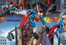Superman Fabric