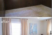 Basement / Windows and walls