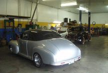 Street Rods / A few of the street rods we have either built or maintain.