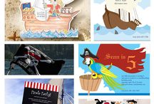 eInvite  Kid's Birthday Ideas - 365 Days of Fun! / Kid's birthdays can be so much fun, especially when they have theme. Here are some ideas to get you started.