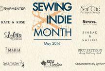 Indie sewing designers, patterns, info