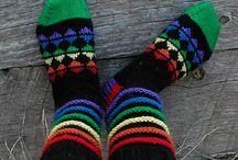 носки, следки, тапочки