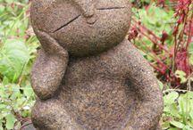 Bahçe heykel