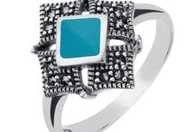 Turquoise And Marcasite Jewellery