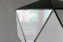 Modern stained-glass lamps / Modern lamps based on the handmade Tiffany technology.