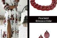 Como combinar Joias Contemporâneas / Personalizando estas incríveis roupas com Joias Contemporâneas.