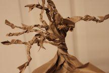 un arbre, un art / Idées de créations sur le thème des arbres