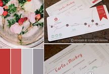 Invitations - Warm Tones / Warm Tone wedding invitations