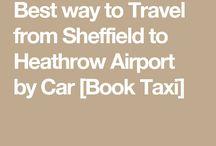 Sheffield to Heathrow Taxi