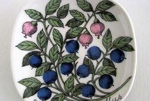 Arabia Finland / Beautiful Arabia porcelain from Finland.