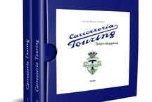 Carrozzeria Touring Superleggera / The history of Touring is described in this new book by Giovanni Bianchi Anderloni, grandson of the founder using the Bianchi Anderloni family archives and with the support of the national archives, as well as vintage magazines.
