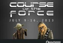 Qualcomm and Course of the Force / Qualcomm is partnering with Course of the Force, an epic Star Wars themed relay race where participants run from San Francisco to San Diego Comic-Con, all while raising money for Make-A-Wish foundation.