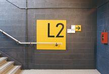 Signage / Environmental and wayfinding signage.