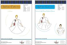 Sewing patterns for Highland dance
