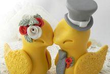 mustard and gray wedding