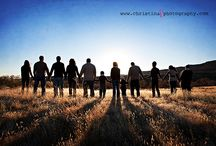Photography ideas--large group / by Jordan