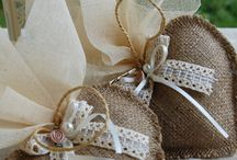 DIY wedding decor, favors and invites