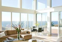 Living by the Sea / Living by the sea décor, structural design, homes,