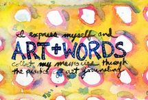 Art Journaling Inspiration / by Lou Stine