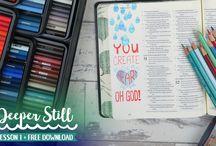 Deeper Still, Bible Journaling Devotional Series