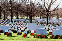 CHRISTMAS AT ARLINGTON NATIONAL CEMETERY / by JTK Americana Inc  & Fatima 2017 Store.
