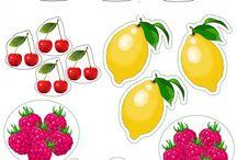 zöldségek, gyümölcsök, termések