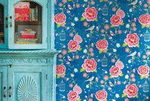 tapisseries / meubles peints