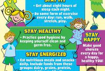 Safety, Health and Nutrition in ECE / Safety, Health and Nutrition are equally important in early childhood education. I have created this board with 8 pins for a brief description on safety, health and nutrition.