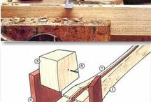 Woodworking home made tools