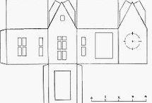 Papír házak