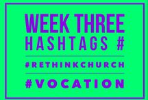 March 16: Living The Questions #Vocation / God is calling you. But to where? And to what? #vocation
