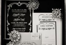 Black & White Themed Wedding