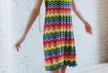 Sukienki na drutach / hobby