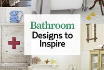 Bathroom Ideas / by Debbi Stroback