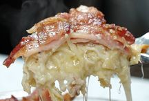 bacon weave lobster Mac & cheese