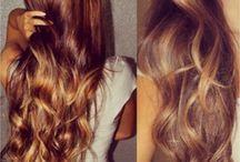 Hair colour-auburn/gold