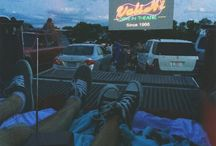 ...Drive-in movie theatre...