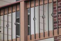 porch railings/deck