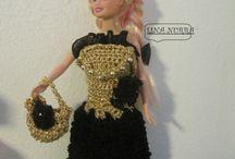 lina nurra / abiti x barbie realizzati ad uncinetto