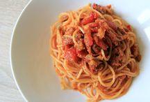 Italské omáčky na těstoviny / Tradiční a jednoduché omáčky na těstoviny.