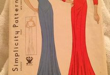 1930'a vintage sewing patterns / Patterns and ideas for vintage outfits