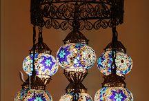 Lámparas de Turquía,Marruecos e India
