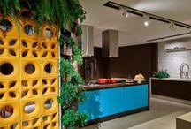 Arquitetura: Cobogó / Visite www.thyaraporto.com/blog e confira ótimas dicas para decorar a sua casa.