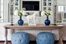 Cushions & rug