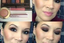 Makeup avec la palette Couture / Coucou les beautés !  MU aujourd'hui c'est Smoky Eyes avec la palette Couture d'Anastasia BeveryHills, Blush Luminoso de Milani et Amazing Lipgloss de Révolution Makeup Natural Pink. Belle journée !