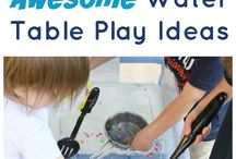 Water play activites